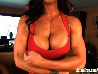 Elisa Ann Bodybuilder Se Desnuda Y Se Masturba