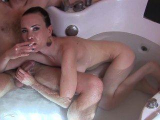 Fumando La Mamada Y El Fetiche Facial Del Baño Por Sylvia Chrystall.pornart Parte I.
