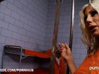 Coño De La Prisión Anal!puma Swede \u0026 Phoenix Marie Hardcore Lesbianas!