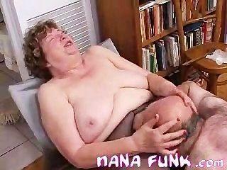 Nana Funk Coño Lamió Y Golpes Polla Vieja