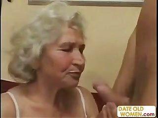 Vieja Abuela Escocesa Obtiene Follada