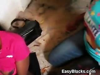 Negro Aficionado Ex Novia Follada Delante De Su Amiga