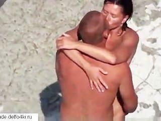 Sexo Aficionado En La Playa