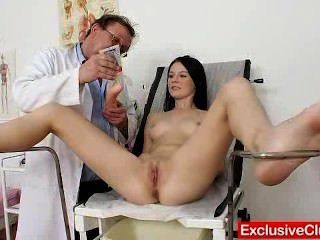 Skinny Dieciocho Lucianna Karel Gyno Clinic Inspection