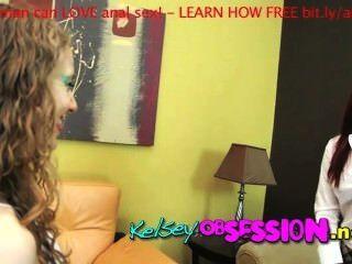 Melodía Jordan Colegiala Stripping Coño Comer Culo Lamiendo Kelsey Obsessio