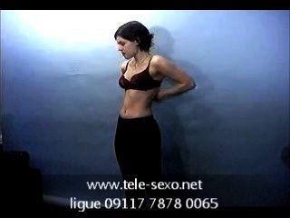 Morena Chica Posando Topless En El Casting Www.tele Sexo.net 09117 7878 0065