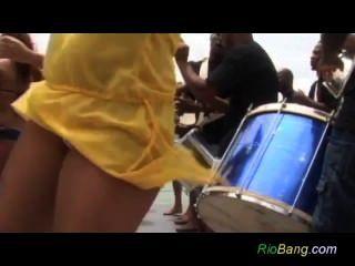 Crazy Rio Anal Zumba Danza Follar Partido Groupsex Orgía