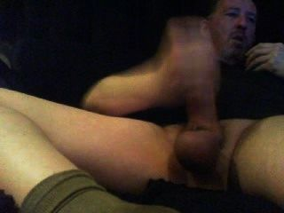 Popper Sniffing, Masturbándose Con Calcetines Smelly Cumload