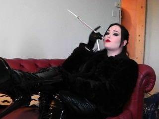 Muñeca Princesa De Fumar En Pvc
