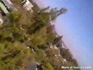 Niñas Flash En Una Montaña Rusa