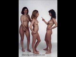 Madre Y No Su Hija Se Desnuda Para La Compilación De Fotos