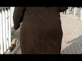 Árabe Calle Voyeur Big Butt Sincero Espiar Culo Maduro