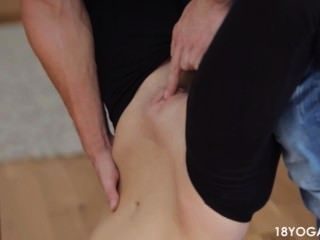 Bf Rips Pantalones De Yoga Gf Para Follar Su Duro