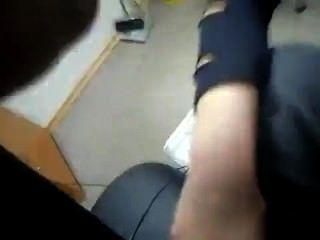 Cachonda Oficina Chica Chupar Y Accidente Cerebrovascular Gran Polla En El Trabajo