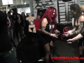 Carolina Abril, Amante Noor Bdsm Show Con Kevin Diamond Por Viciosillos