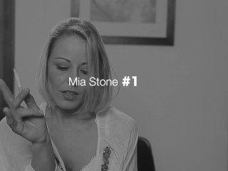 Mia Stone Smoking Fetish Trailer De Smokeagony.com