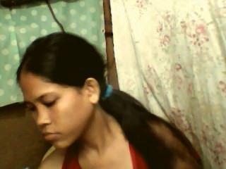 Chica Filipina Con Enormes Tetas Y Buen Coño Haciendo Cam Show