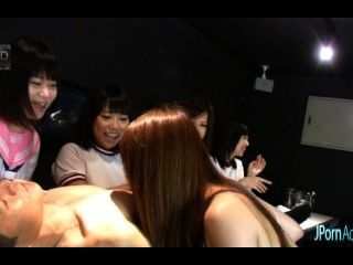 Sexo En Grupo Hardcore Japonés