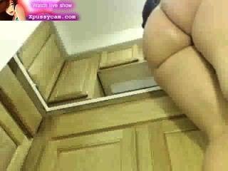 Cocinero Caliente Bbw Medio Desnudo