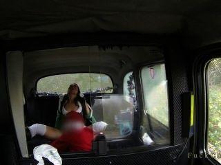 Morena Coño Lamido Y Jodido Por Santa En Taxi