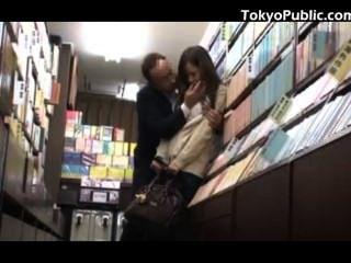 Colegiala Japonesa Sexo Público En La Librería