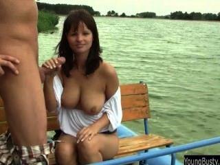 Busty Teen Rita Fuck Dick En El Lago